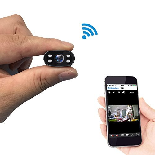 Überwachungskamera PNZEO W1 Mini Kamera 1080P HD Infrarot-nachtsicht-kamera Mini Drahtlose wifi kamera für iPhone/Android Telefon/iPad/PC Fernsicht unterstützung 128GB Micro Sd-karte