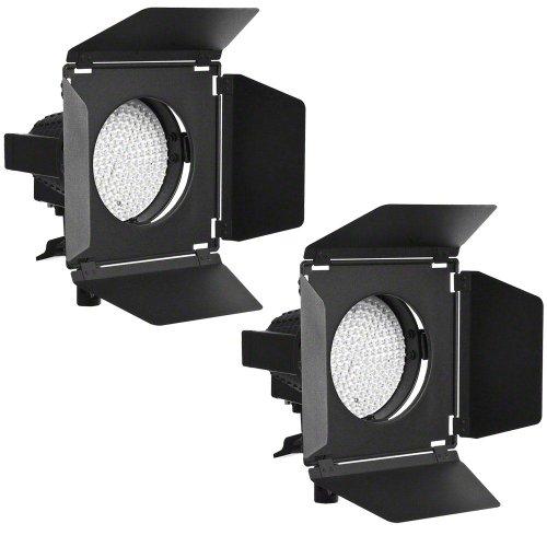 Walimex Pro LED Spotlight und Abschirmklappe (2er Set)