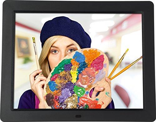 """Rollei Degas DPF 15"""" – Digitaler Multi-Media Bilderrahmen mit 15.0"""" (38,1 cm) TFT-LED Panel, Bild-, Video-, Musik-, Kalender- und Uhrfunktion, Diashow, inkl. Fernbedienung – Schwarz"""